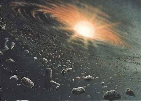 Sonnensystem Entstehung